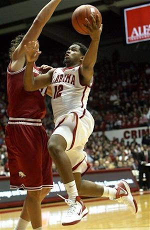 Releford lead Alabama past Arkansas 72-66