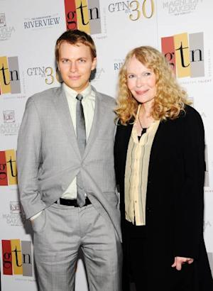 Ronan Farrow and his mother, actress Mia Farrow attend the Greater Talent Network's 30th anniversary at the Ambassadors River View at the United Nations on May 2, 2012 in New York City -- WireImage