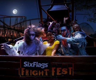 Six Flags St. Louis once again presents Fright Fest featuring sinister clowns, freaky freaks and crazed zombies who have taken over the park. Fright seekers can scream the night away in our four haunted mazes, a frightful hayride, a terror train and numerous scare zones throughout the park. Refuge can be taken in one of the park's many Fright Fest shows. It's Thrills by Day and Fright By Night Saturday, September 28 through Sunday, October 27, including Fridays in October.