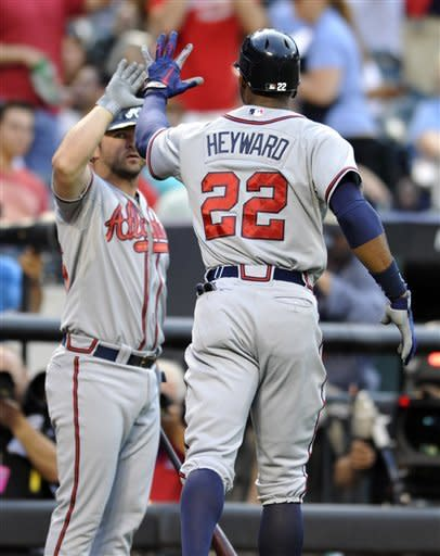 Maholm throws 3-hitter, Braves beat Mets 4-0