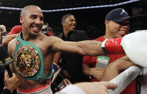 Andre Ward KOs Chad Dawson in 10th round