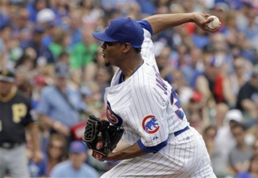 Soriano hits 2 homers to lead Cubs over Pirates