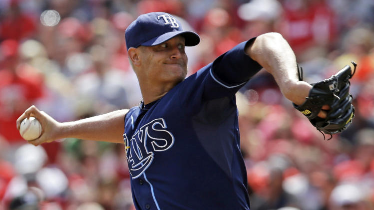 Rays put Cobb on DL with strained oblique