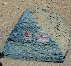 Curiosity Rover's Pet Mars Rock 'Jake' Unlike Any Seen on Red Planet