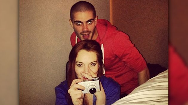 Max George: I'm Not Dating Lindsay Lohan