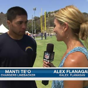 San Diego Chargers linebacker Manti Te'o knows what to expect in year two