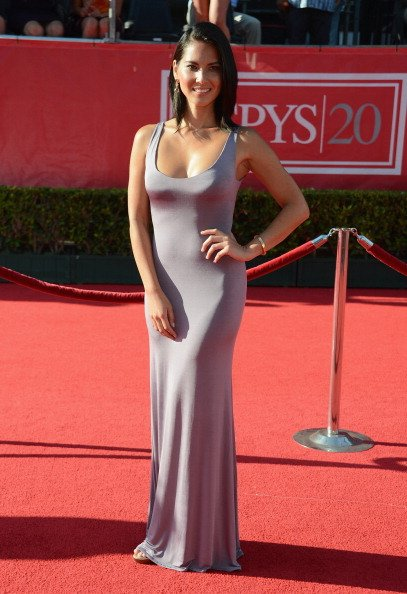 Actress Olivia Munn arrives at the 2012 ESPY Awards at Nokia Theatre L.A. Live on July 11, 2012 in Los Angeles, California. (Photo by Frazer Harrison/Getty Images)