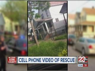 Cell phone video released of Ohio rescue