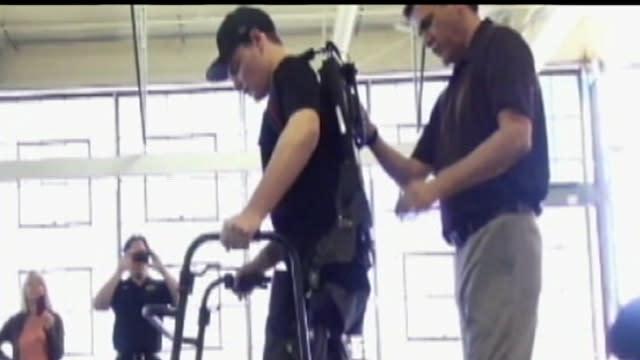 Bionic Suit Helps Paralyzed Patients Walk Again