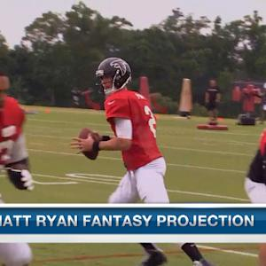 Atlanta Falcons QB Matt Ryan fantasy projection