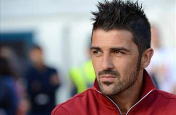 David Villa delighted to make Barcelona return