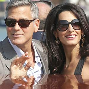 Clooney's Wedding Weekend Begins in Venice