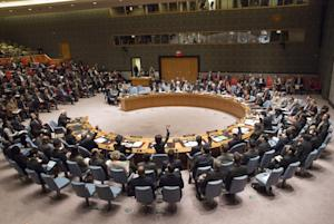 This United Nations photo shows the UN Security Council …