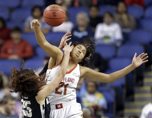 Thomas leads Terp women past Wake in ACC tourney