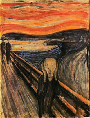Is Facebook a Human Right or a Weapon? image the scream