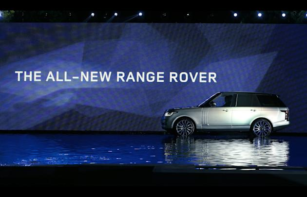 The all-new fourth-generation Range Rover