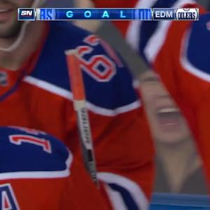 Eberle collects hat trick