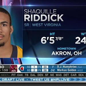 Arizona Cardinals pick defensive end Shaquille Riddick No. 158 in 2015 NFL Draft