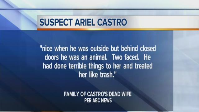 Noon: Family of late wife calls Castro violent