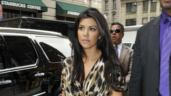 Kourtney Kardashian NYC