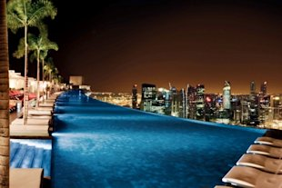 Marina Bay Sands Hotel, Singapore (Courtesy of the Marina Bay Sands)