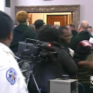 Fight erupts at St. Louis City Hall