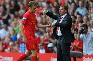 Lucas set to return to Liverpool from injury in three weeks, says Rodgers