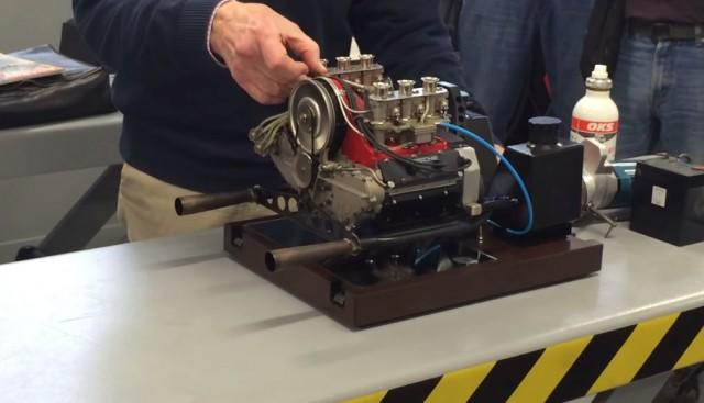 Scaled-Down Porsche Engine Scales Up The Awesome: Video