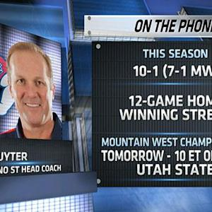 Tim DeRuyter on Mountain West Championship