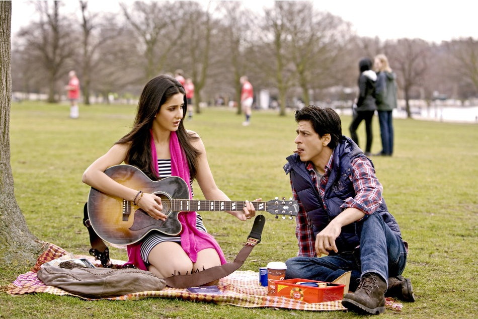 Find out how SRK charmed Katrina