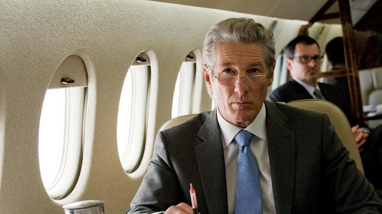 "This film image released by Roadside Attractions shows Richard Gere in a scene from ""Arbitrage."" (AP Photo/Roadside Attractions, Myles Aronowitz)"