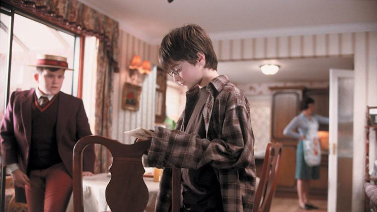 Harry Potter and the Chamber of Secrets 2002 Warner Bros. Pictures Harry Melling Daniel Radcliffe