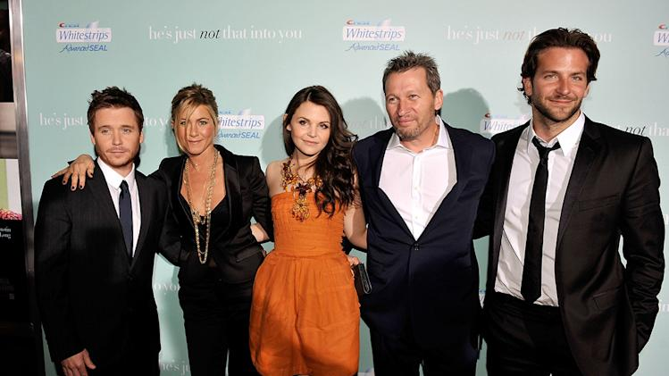 He's Just Not That Into You LA premiere 2009 Kevin Connolly Jennifer Aniston Ginnifer Goodwin Ken Kwapis Bradley Cooper