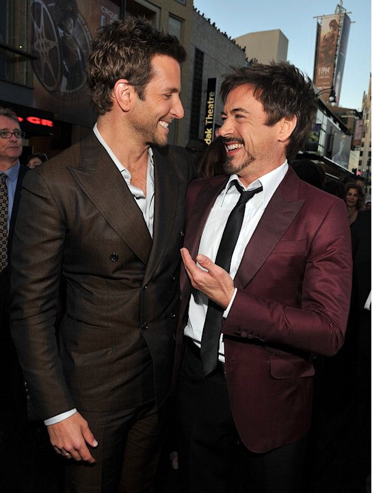 The Hangover Part II LA Premiere 2011 Bradley Cooper Robert Downey Jr.