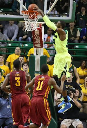 Baylor gets NCAA boost, 74-61 over No. 16 Iowa St