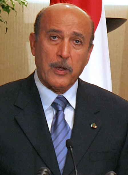 Omar Suleiman was in charge of the sensitive Israeli-Palestinian issue during the previous Egyptian administration