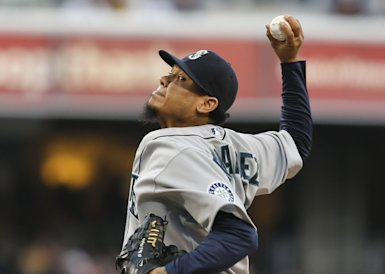 Seattle's Felix Hernandez is also a possibility to start for the AL. (AP Photo)