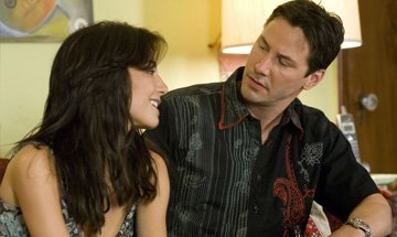 Martha Higareda and Keanu Reeves in Fox Searchlight Pictures' Street Kings