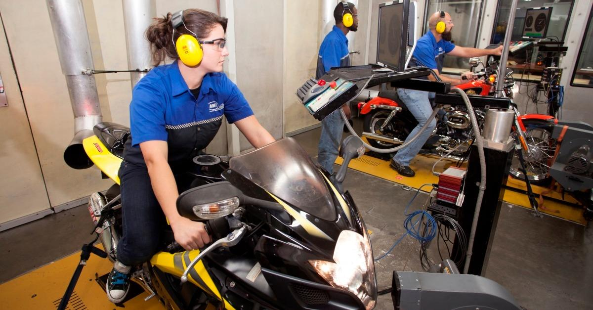 Become a Motorcycle Technician.