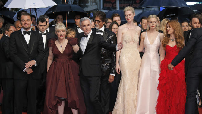 DiCaprio, Spielberg open a stormy Cannes