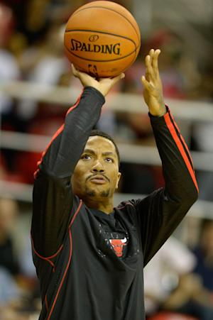 Rose sits but Bulls defeat Wizards 83-81