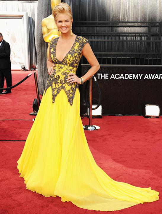 Oscars 2012: Nancy O'Dell