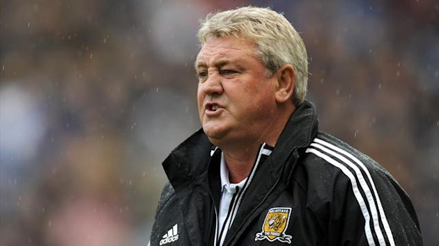 Steve Bruce, pictured, was angry with Alan Lee after beating Huddersfield