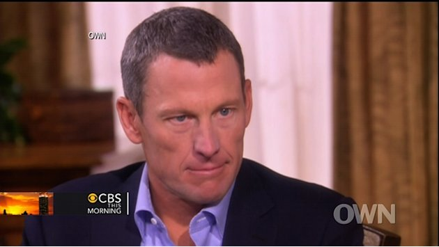 Armstrong on doping: I didn't …