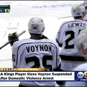 Kings' Voynov Suspended After Arrest On Domestic Violence Charges