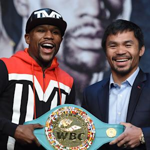 Mayweather and Pacquiao talk about their pre-fight night plans