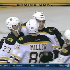 Milan Lucic Goal on Pekka Rinne (04:04/2nd)