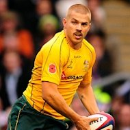 Drew Mitchell, pictured, and Radike Samo have been called up for Australia