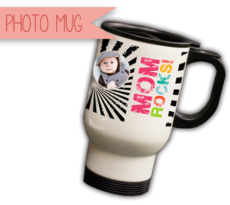 Personalized Photo Mug with Baby's Photo