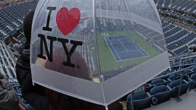 US Open, New York, Rain (Reuters)
